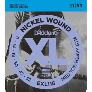 D´addario EXL116 Nikel Wound Cuerdas para Guitarra Eléctrica